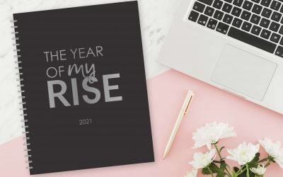 Plan & reach your business goals with the 2021 Year of My Rise planner